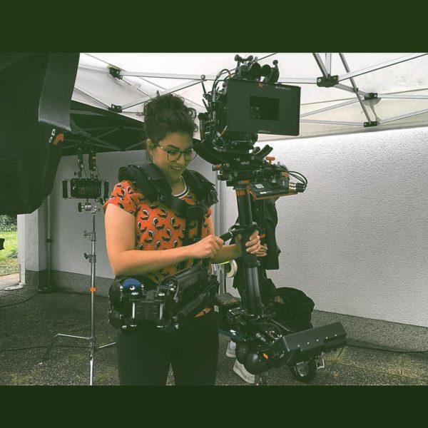 """Schauspielerin Brigitta Kanyaro: """"Ich suche mir permanent Aufgaben, schreibe Drehbücher, plane Kurzfilme und setze mich ständig mit dem Medium Film auseinander."""" (Foto privat)"""