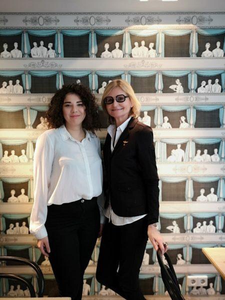 Die junge Schauspielerin Brigitta Kanyaro spricht mit mir bei unserem Interview in Wien über anstrengende Drehzeiten, ihre eigenen Projekte und ihr Regiedebut. (Foto Reinhard Sudy)