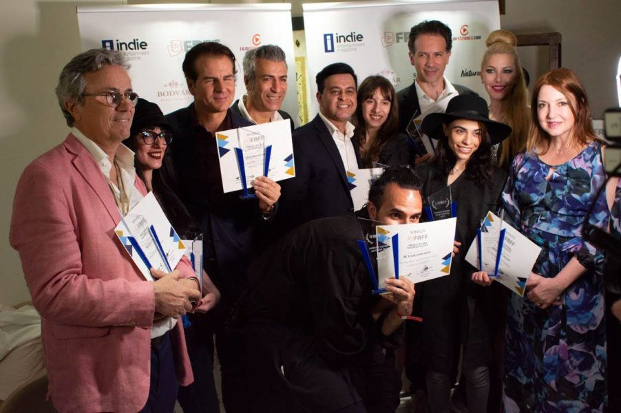 Proud Winners of the first French Riviera Film Festival (FRFF) in Cannes (Photo FRFF)