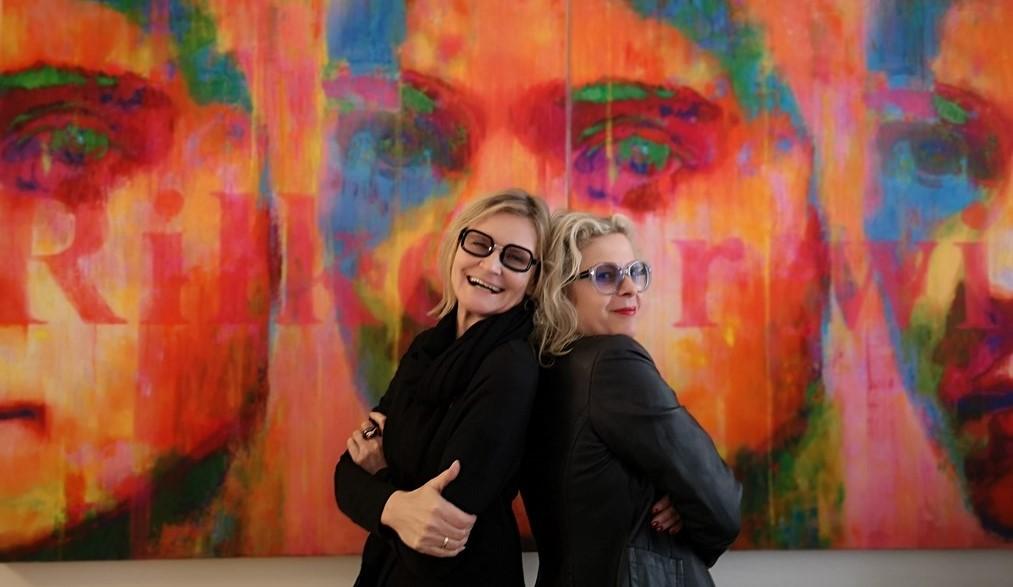 Freundinnen: Hedi Grager und Heidi Kriz. (Foto Reinhard Sudy)