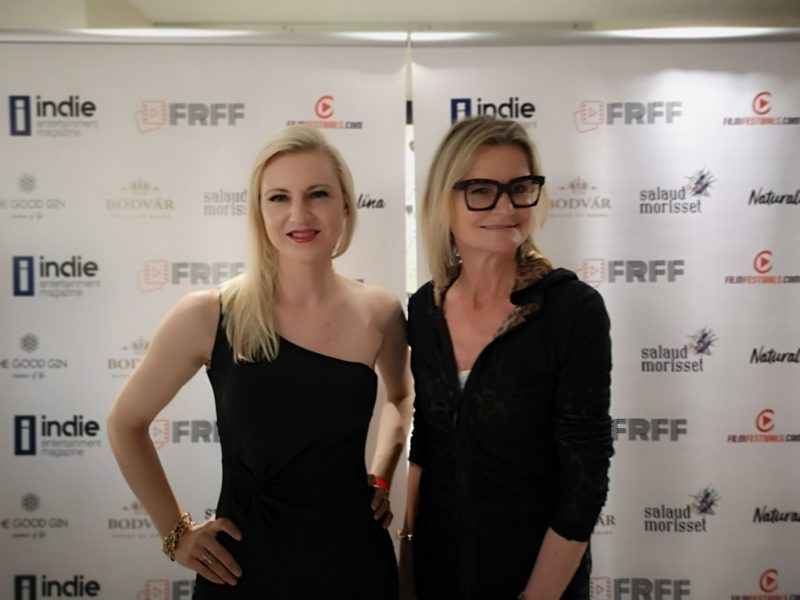 Laura Michelle Powers and Hedi Grager at French Riviera Film Festival in Cannes (Photo Reinhard Sudy)