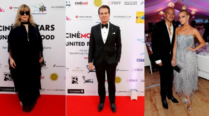 CINÉMOI 'STARS UNITED FOR GOOD' GALA in Cannes