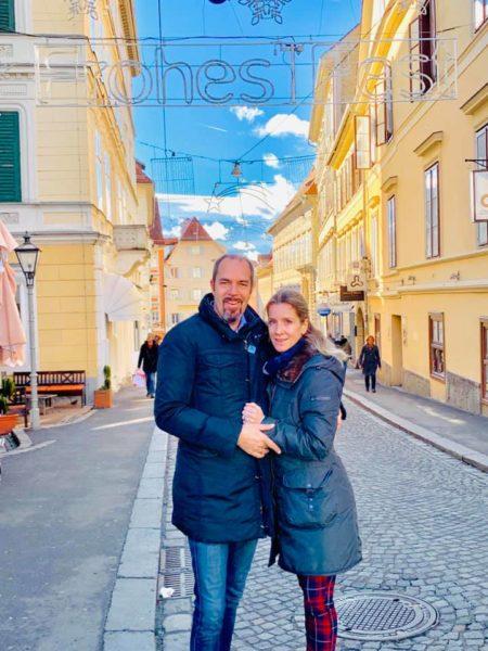 """Mag. Rudi Roth ist seit mehr als 10 Jahren mit seiner Frau Anna-Maria verheiratet. """"In ihr habe ich einen wunderbaren Menschen gefunden."""" (Foto privat)"""