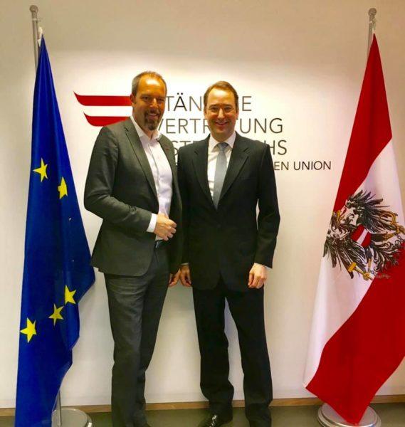 Mag. Jürgen Roth ist als Unternehmer und als WKO-Vizepräsident weltweit für Österreich unterwegs. (Foto privat)