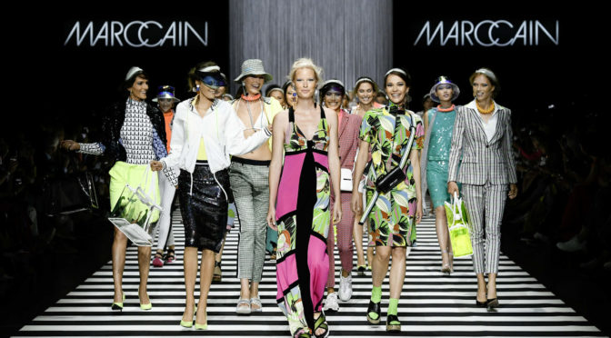 "Fashion Week Berlin – Marc Cain: ""Colour in Motion"""