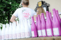 Pink&White Bubble Party am Gut Pössnitzberg (Foto Gut Pössnitzberg/Apresvino)