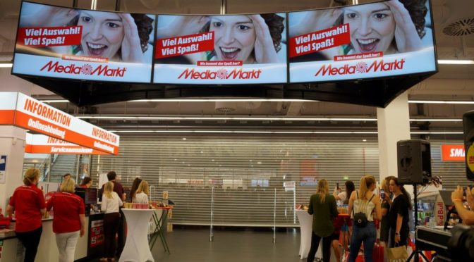 MediaMarkt Seiersberg ist modernster Elektro- und Technikmarkt Österreichs