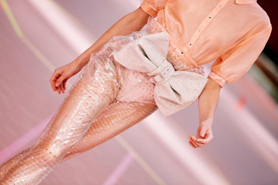 Marina Hoermanseder Fashion Show während der Berlin Fashion Week (Foto Stefan Kraul)