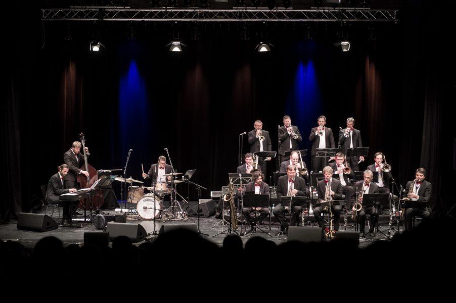 Für die Lungau Big Band bietet die gemeinsame Tour bereits zum dritten Mal eine großartige Gelegenheit mit dem Ausnahmemusiker Nils Landgren zu musizieren. (Foto Albert Moser).