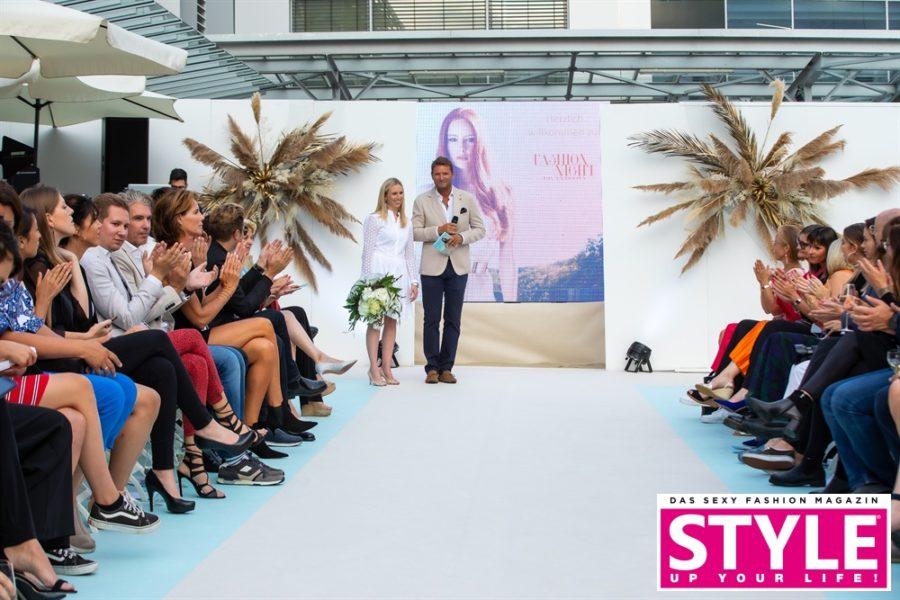 Messeleiterin Katharina Krassnitzer und Brandboxx-Geschäftsführer Markus Oberhambergerzeigten sich mit der Fashion Night sehr zufrieden. (Foto Moni Fellner)