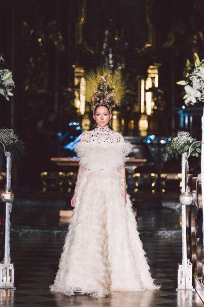 Großartige Couture-Show der Designerin Eva Poleschinski in ihrer Heimatstadt Hartberg. Die Haare der Models wurden vonBundy & Bundygestylt, das Make up wurde vonSandra Pichlergemacht. (Foto A twist of Lemon)