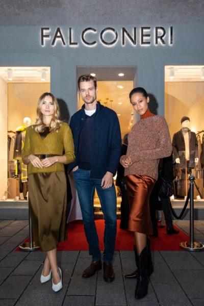 """FALCONERI & das Magazin """"Y-Luxury for a new generation"""" luden zum exklusiven CASHMERE & CHAMPAGNE Event in die schöne Salzburger Innenstadt.(Foto Moni Fellner)"""