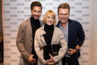 Michael Lameraner, Schauspielerin Elke Winkens und Adi Weiss (Foto Moni Fellner)