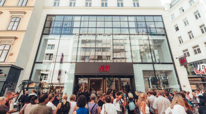 GRÖSSTER H&M FLAGSHIP STORES IN WIEN