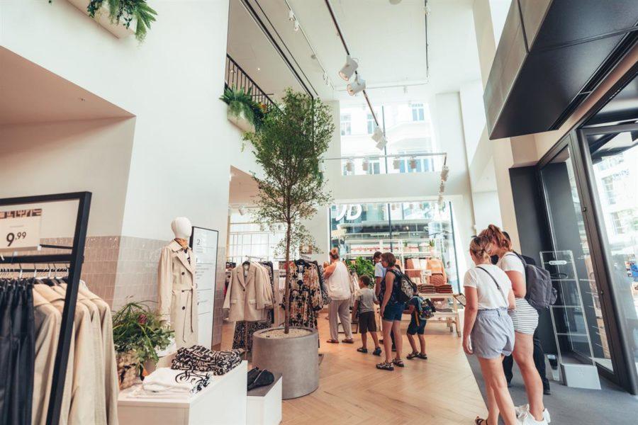 Eröffnung des H&M Flagship Store in der Mariahilfer Straße in Wien. (Foto Maximilian Röder / Warda Network)