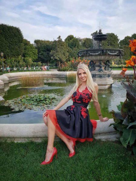 Beatrice Körmer arbeitet erfolgreich als Model und hat ihre Miss Vienna Krone zurück. (Foto Heimo Turin)