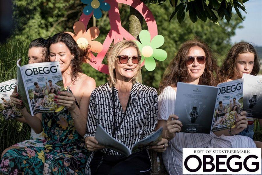 Natürlich durfte auch die neue Ausgabe von OBEGG- Best of Südsteiermark nicht fehlen.