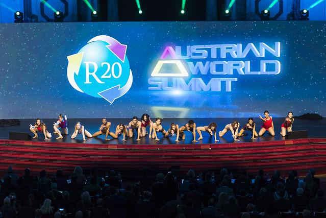 Die internationale, zweitägige Klimakonferenz R20 Austrian World Summit fand im Mai zum dritten Mal in der Wiener Hofburg statt. (Foto R20 AWS)