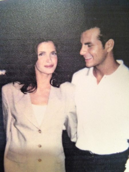 "Vincent de Paul worked with Stephanie Seymour for L'OREAL. ""It was a great pleasure to work with her."" (Photo privat)"