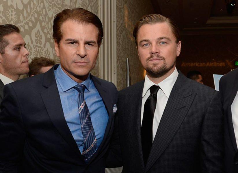 Two great actors: Vincent de Paul and Leonardo DiCaprio. (Photo privat)