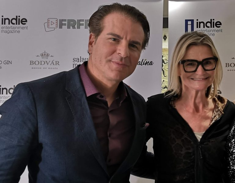 I met this amazing actor at this year's Cannes Film Festival. Vincent de Paul shortened for his stage name his full name Salvatore Vincent De Paul Zannino.(Foto Reinhard Sudy)