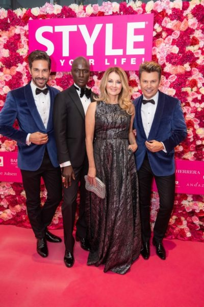 10 Jahre STYLE UP YOUR LIFE! Michael Lameraner, Papis Loveday, Frauke Ludowig und Adi Weiss (Foto Moni Fellner)
