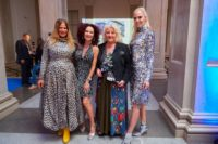 Austrian Art Award Verleihung 2019: Natalia Ushakova, Christine Lugner, Marika Lichter und Beatrice Körmer (Foto Starpix / Alexander Tuma)