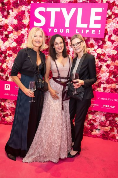 10 Jahre STYLE UP YOUR LIFE! Helga Kresnik, Kresnik Woman Store, Schauspielerin Sonja Kirchberger und Journalistin Hedi Grager. (Foto Moni Fellner)