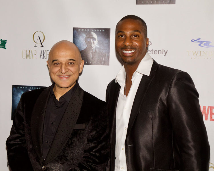 Grammy Award-Winner Omar Akram with Eric Darius, Saxophonist, Songwriter, Producer and Performer. (Photo Tshombe Sampson)