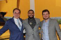 Der frühere NFL Footballer Reggie Bell kam zur Präsentation der 'APPLETINIES NFL Reggie Bell 24 Karat Gold Edition' nach Graz. (Foto Andrea Ruschka)