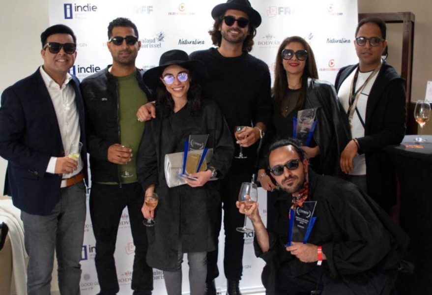"The French Riviera Film Festival (FRFF) 2019: Dena Rassam won with her short film ""Tattoo"". (Photo private)"
