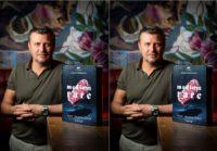 """Spitzenkoch und Gastrounternehmer Christof Widakovich brachte sein erstes Buch unter dem Titel """"medium rare. Steak - die hohe Schule"""" heraus. (Foto Werner Krug)"""