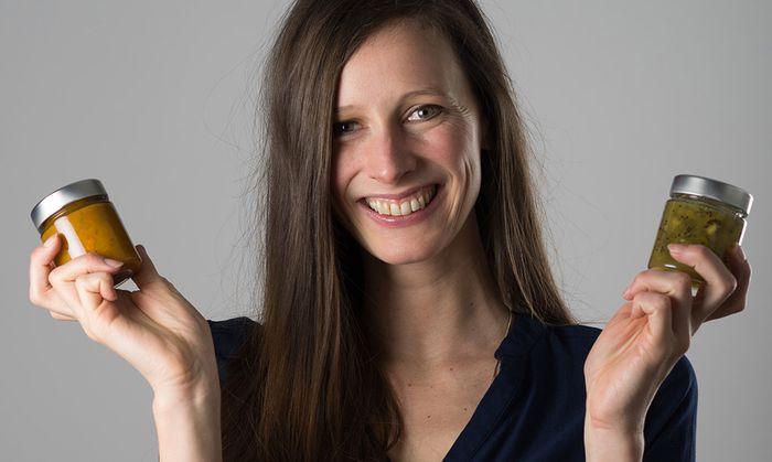 Bei den Start-ups setzte sich Cornelia Diesenreiter mit Unverschwendet durch. (Foto Unverschwendet)