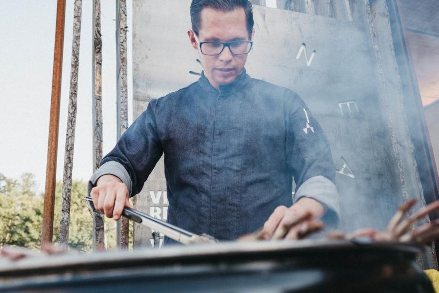 VINEA-Chefkoch David Büchl gilt als eines der großen Talente der Branche.(Foto Heldentheater)