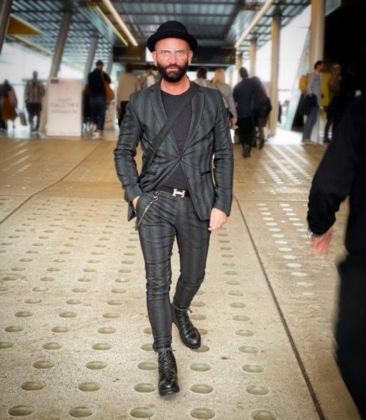 Inspiration holt sich Dieter Ferschinger auch bei seinen Reisen, gerade kam er wieder von London zurück. (Foto privat)