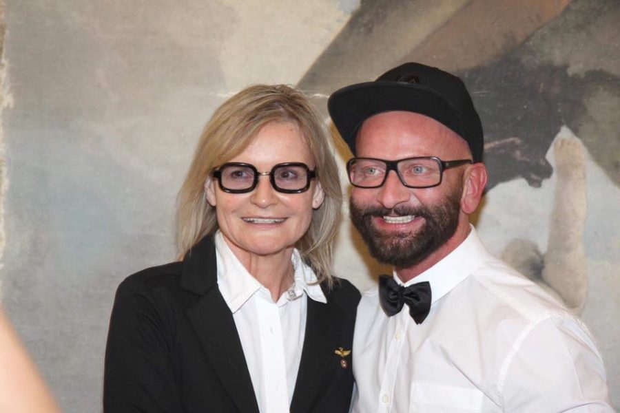 Hairstylist Dieter Ferschinger im Gespräch mit Journalist&Publisher Hedi Grager (Foto privat)