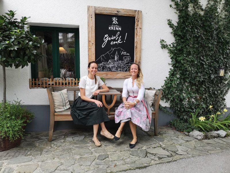 Mit dem Gasthaus und dem Gästehaus mit Greißlerei Krenn in Pürgg wurde für die beiden Schwestern Valerie und Theresia Graf ein Märchen wahr. (Foto Reinhard Sudy)