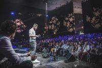Georg Stücklschweiger auf der Bühne beim Main Festival 2019 (Foto Fifteen Seconds | Niki Pommer)