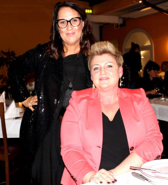 Andrea Ruschka, Vorstand Verein 'Der Vierender', und 'APPLETINIE' Sonja Wilfling (Foto Andrea Ruschka)