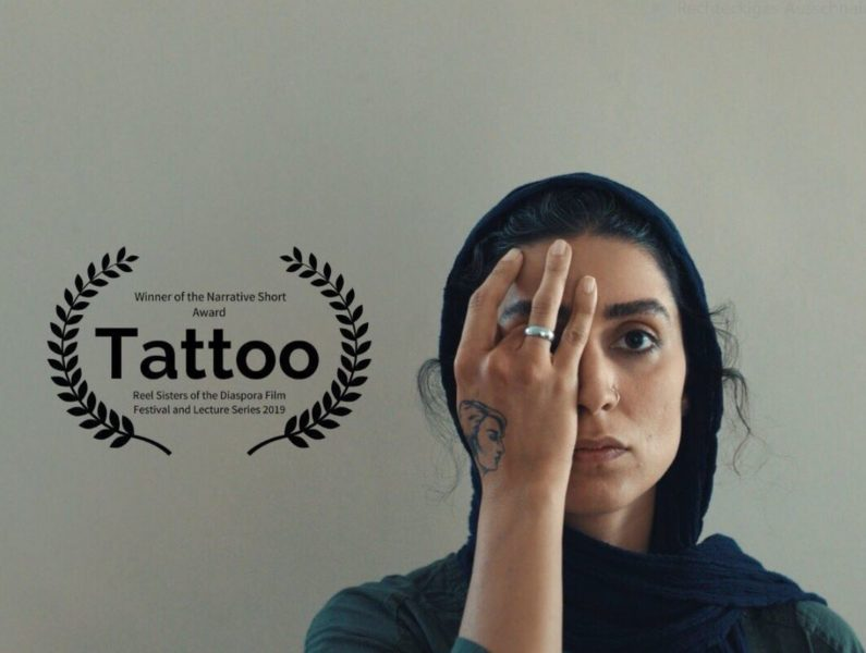 """Tattoo"" is the very successful short film of Dena Rassam, Director, Producer and Distributor, with the actress Behdokht Valia."