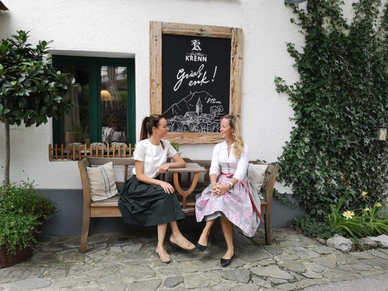 Die beiden Schwestern Valerie und Theresia Graf legen im Gasthaus und Gästehaus Krenn großen Wert auf absolute Qualität. (Foto Reinhard Sudy)