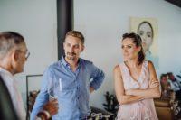 Fruchtbrennerei - Monika Tinnauer mit Lebenspartner Gero Jammernegg (Foto Clemens Strobl)