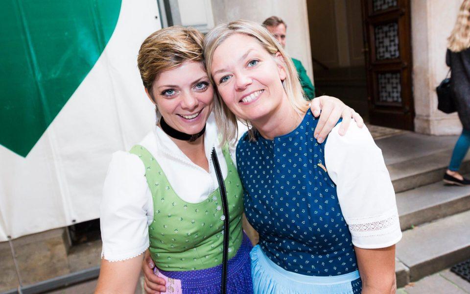 Alexandra Lientscher und Astrid Perna Penzinger verstehen sich nicht nur beruflich sehr gut, sondern sind auch privat sehr gute Freundinnen. (Foto privat)