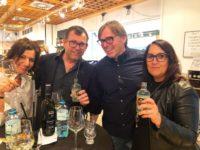 Andrea Ruschka genießt Zeit mit ihrem Mann im Grazer Dr. Bottle. (Foto privat)