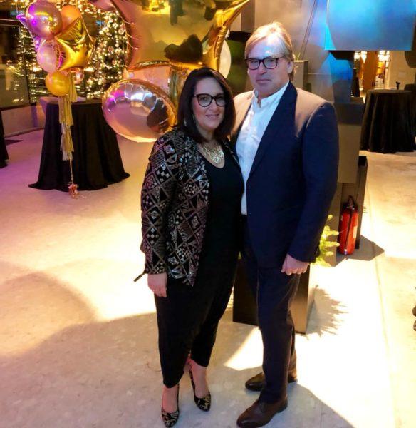 Andrea Ruschka mit ihrem Mann Oswald, der unterstützend im Verein DER VIERENDER tätig ist. (Foto privat)