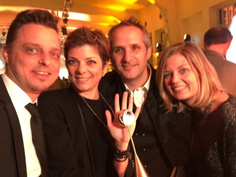 Die IVENTS Agentur von Markus und Alexandra Lientscher sowie Giuseppe Perna und Astrid Perna-Benzinger hat schon einige Awards für ihre großartigen Veranstaltungen bekommen. (Foto privat)