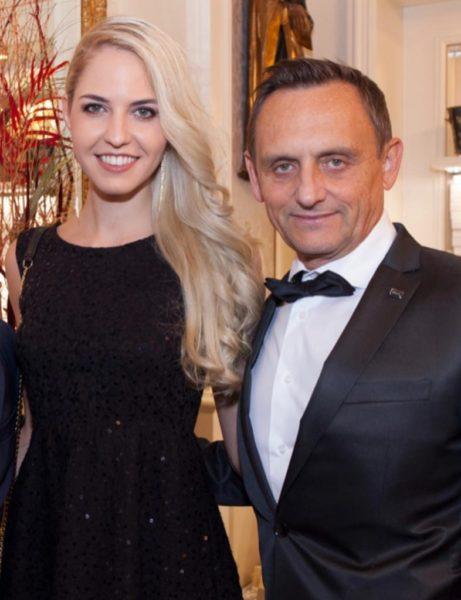 Miss Vienna Beatrice Körmer mit ihrem Lebensgefährten Heimo Turin, der sie in all ihren Aktivitäten unterstützt. (Foto privat)