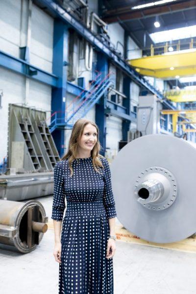 Elisa Wielinger istProduct Managerin bei der Andritz AG Graz. (Foto Marija Kanizaj)