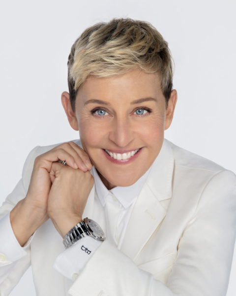 The Hollywood Foreign Press Association honors Ellen DeGeneres with the Carol Burnett Award. Chosen by the HFPA Board of Directors, the Carol Burnett Award is presented annually to an honoree who has made outstanding contributions to the television medium on or off the screen. (HFPA Photographer)