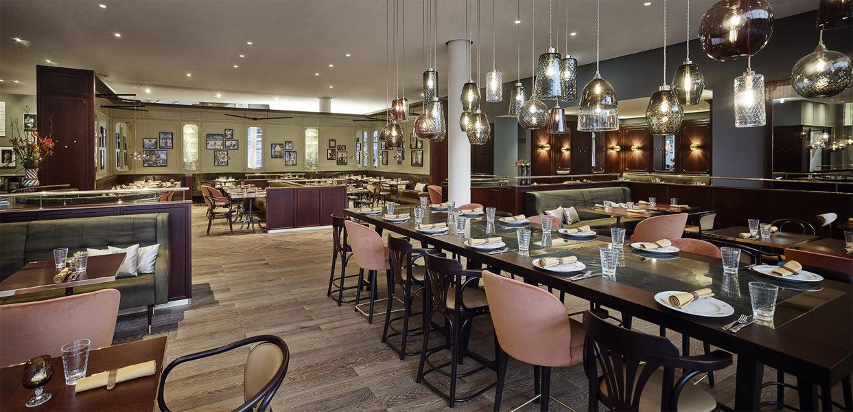 Das Restaurant Eugen21 im Hotel Andaz Vienna Am Belvedere. Andaz ist Hindi und steht für einen persönlichen Stil. (Foto Andaz)